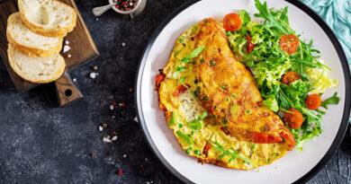 Omelete de forno Low Carb