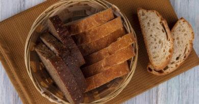 Pão low carb de amendoim