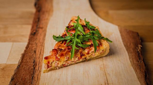 Torta Low Carb de Pizza