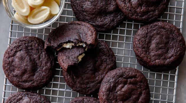 Receita de Cookies Recheados